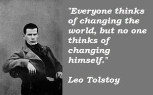 Tolstoy quote