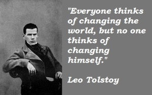 Tolstoy quote