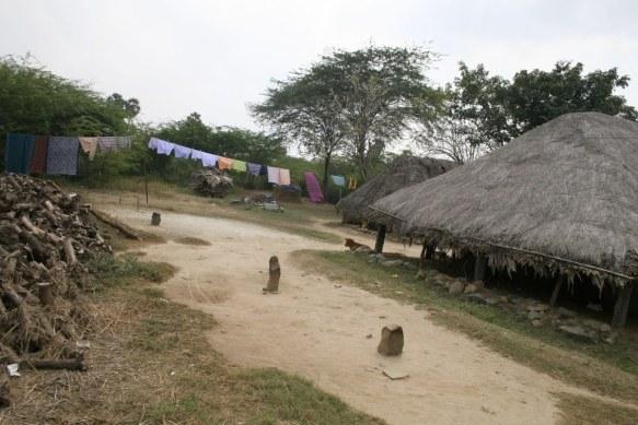 old village life