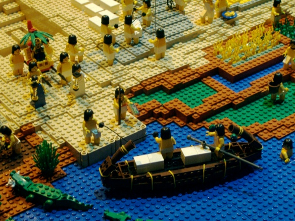 ancient Egypt in Legos (Colin Keigher)