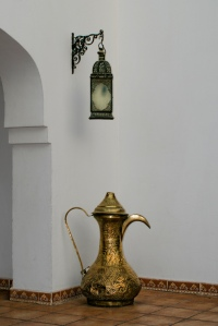 Egyptian lamp and jug (Matt Create)