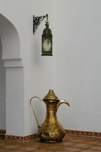Egyptian lamp and jug (Matt Create)