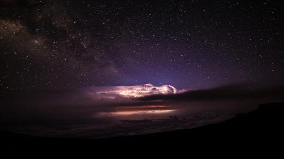 storm night sky