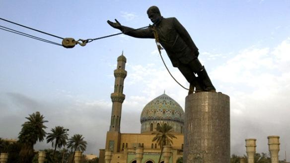Statue - Saddam Hussein