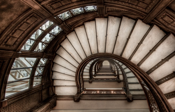 spiral staircase (Chris Smith Out of Chicago)