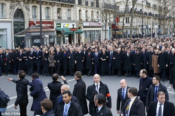 Paris march world leaders