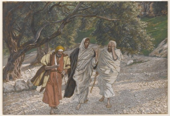 on road to Emmaus