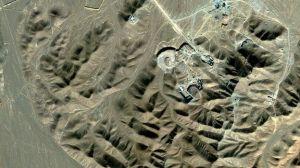 Iran uranium enrichment plant @ Qom (BBC)