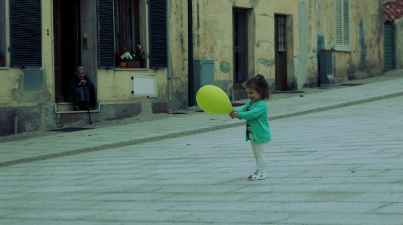 little girl with balloon 2